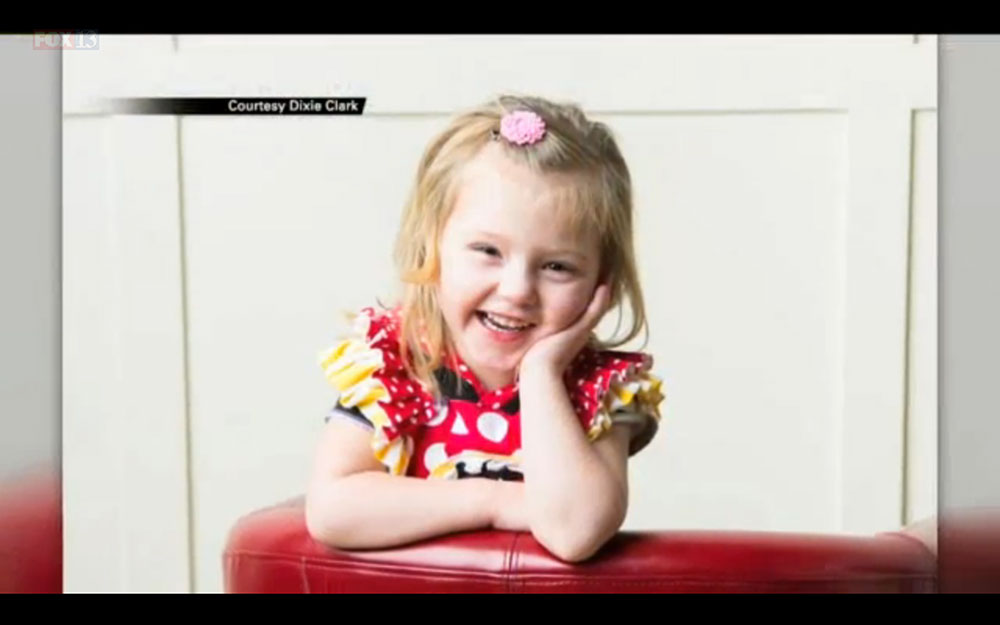 3 Year-old Girl With Heart Tumor