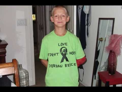 Jordan Fights Burkitt's Lymphoma-cancer